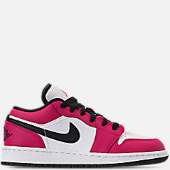 Girls' Grade School Air Jordan 1 Low (3.5y - 9.5y) Casual Shoes
