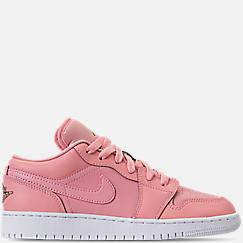 Girls' Grade School Air Jordan 1 Low (3.5y - 9.5y) Casual Shoes