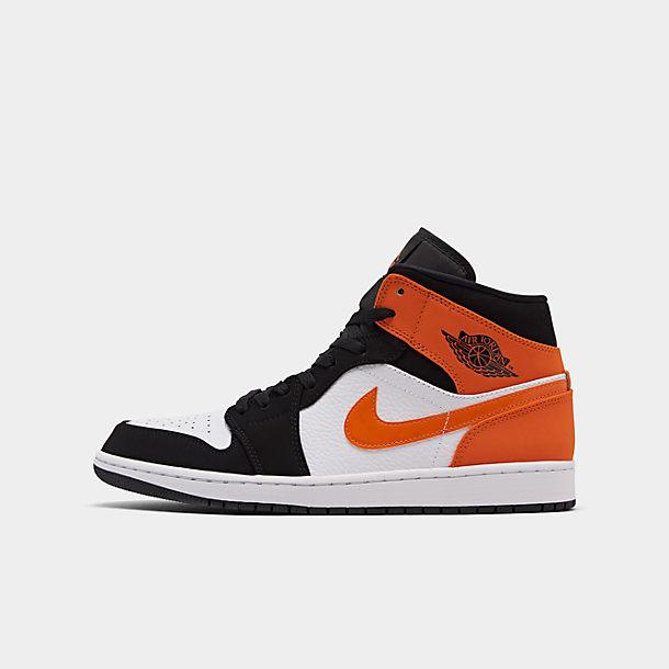 Men's Air Jordan 1 Mid Retro Basketball Shoes