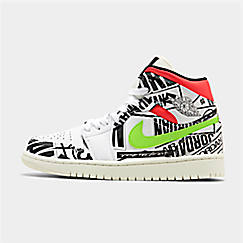 detailed look c2096 9acda Men s Air Jordan 1 Mid Retro Basketball Shoes