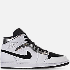 detailed look 39579 0078e Men s Air Jordan 1 Mid Retro Basketball Shoes