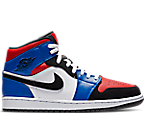 White/Black/Hyper Royal/University Red
