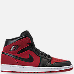 Men s Air Jordan 1 Mid Retro Basketball Shoes 19cfb6bf7