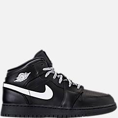 Big Kids' Air Jordan 1 Mid Basketball Shoes