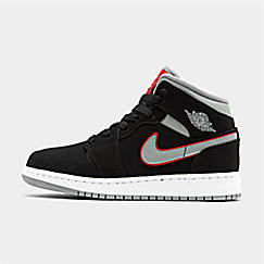 huge discount b018d 96442 Big Kids  Air Jordan 1 Mid Basketball Shoes