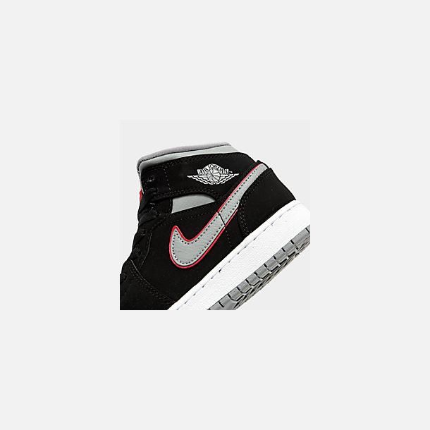 new concept e7d24 d7478 Big Kids' Air Jordan 1 Mid Basketball Shoes