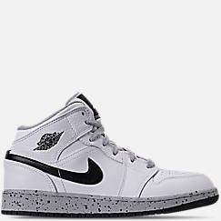 Big Kids  Air Jordan 1 Mid Basketball Shoes 326ae910d