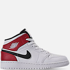 e29102f19662e Big Kids  Air Jordan 1 Mid Basketball Shoes