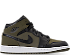 Olive Canvas/Black/White