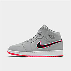 Girls' Big Kids' Air Jordan 1 Mid Casual Shoes