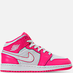 3212f048a82b Girls  Big Kids  Air Jordan 1 Mid Casual Shoes