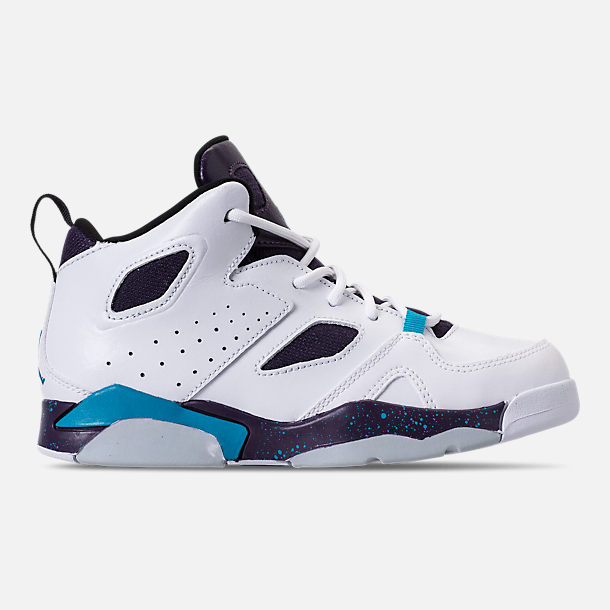 Right view of Boys  Little Kids  Air Jordan Flight Club  91 Basketball Shoes daa083062