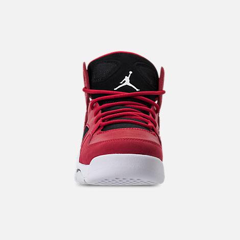 d759b8c8f857 Front view of Boys  Big Kids  Air Jordan Flight Club  91 Basketball Shoes
