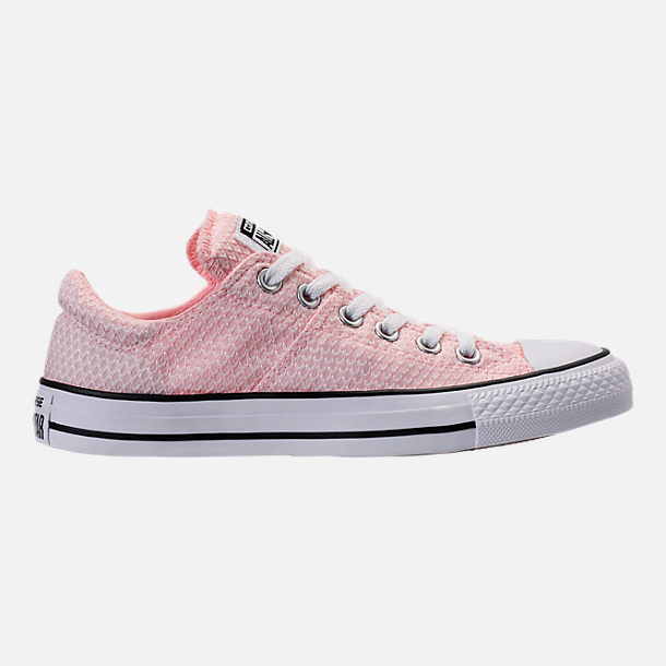 Right view of Women's Converse Chuck Taylor All Star Madison Ox Casual Shoes in Vapor Pink/White