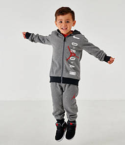 Boys' Infant and Toddler Jordan Full-Zip Hoodie and Pants Set