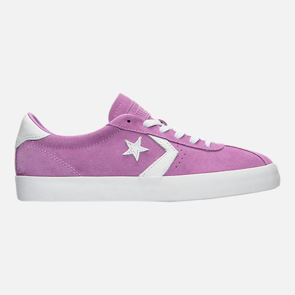 Right view of Women's Converse Breakpoint Ox Casual Shoes in Fuchsia Glow