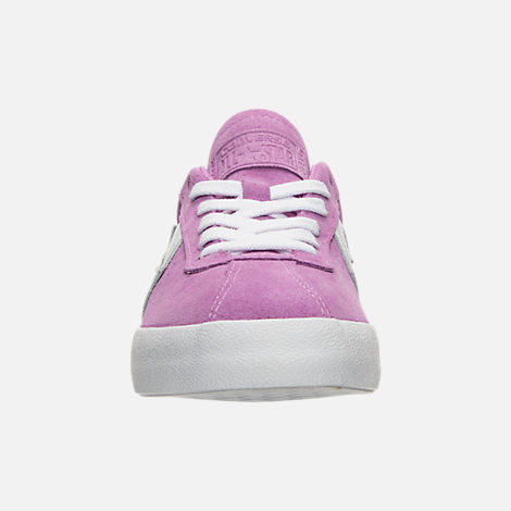 Front view of Women's Converse Breakpoint Ox Casual Shoes in Fuchsia Glow