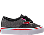 Girls' Toddler Levi's Monterey Chambray 2 Tone Casual Shoes