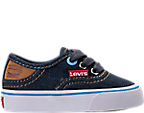 Boys' Toddler Levi's Monterey Denim Buck Casual Shoes