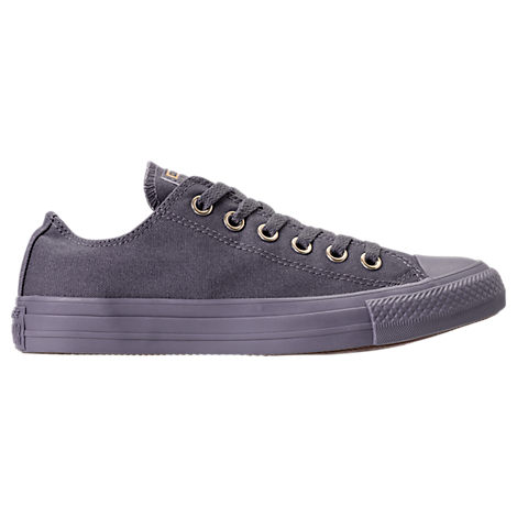 Converse Women S Chuck Taylor Ox Casual Sneakers From Finish Line In Grey 94a466a73