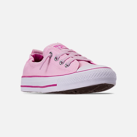 new product 026a0 3b858 Three Quarter view of Women s Converse Chuck Taylor All Star Shoreline Casual  Shoes in Pink Foam