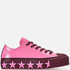 Women's Converse x Miley Cyrus Chuck Taylor Lift Ox Casual Shoes
