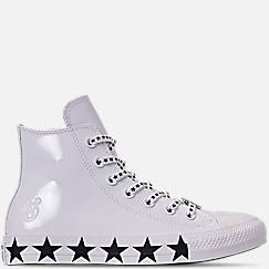 Women s Converse x Miley Cyrus Chuck Taylor High Top Casual Shoes 7c193606f
