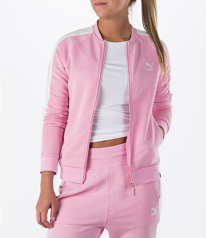 Front view of Women's Puma T7 Track Jacket