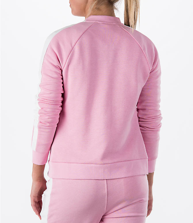 Back Left view of Women's Puma T7 Track Jacket