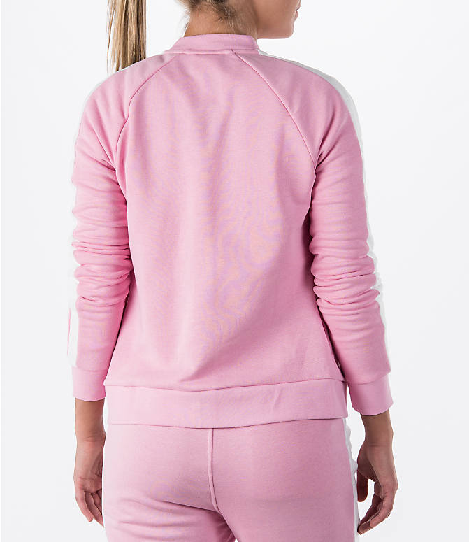 Back Right view of Women's Puma T7 Track Jacket