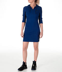 Women's Puma T7 Hooded Dress Product Image