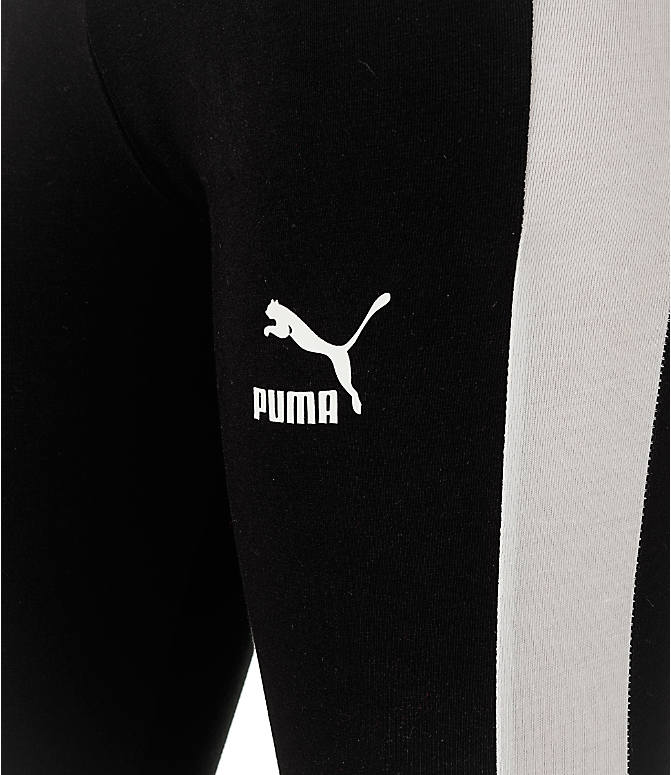 Detail 1 view of Women's Puma T7 Leggings in Black/White