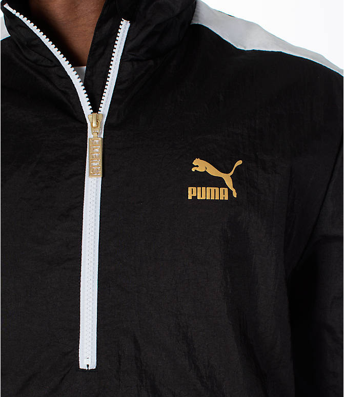Detail 1 view of Men's Puma T7 BBoy Track Jacket in Black