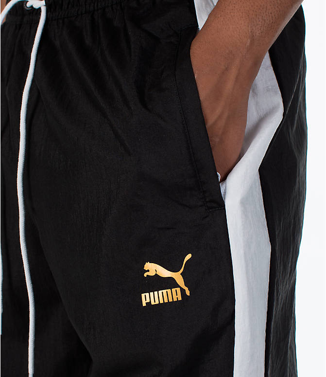Detail 1 view of Men's Puma T7 BBoy Track Jogger Pants in Black