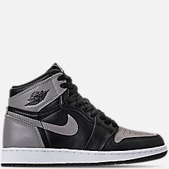 Kids' Grade School Air Jordan Retro 1 High OG Casual Shoes