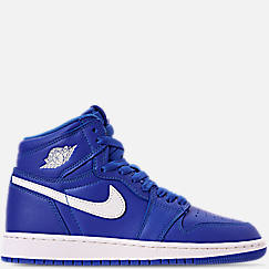 Kids' Grade School Air Jordan Retro 1 High OG Basketball Shoes