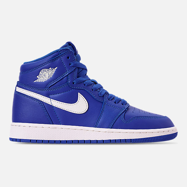 cheaper 64466 f45fa ... australia right view of big kids air jordan retro 1 high og basketball  shoes in hyper