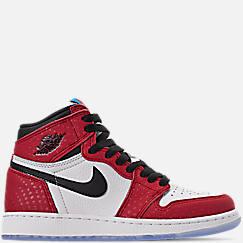 buy online a7c85 6ce2d ... where to buy big kids air jordan retro 1 high og basketball shoes 3c512  eef33