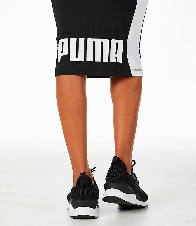Detail 2 view of Women's Puma Pencil Skirt in Black/White