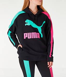 Women's Puma Classics T7 Logo Hoodie
