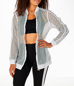 Women's Puma Exposed Mesh Fashion T7 Track Jacket
