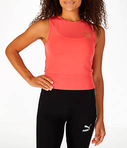 Women's Puma Exposed Crop Tank Top