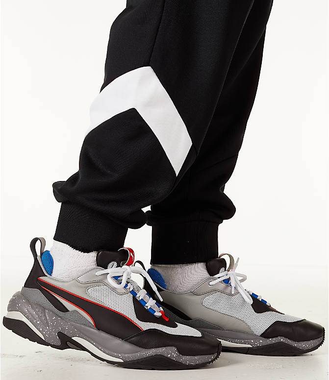 Detail 2 view of Men's Puma MCS Track Jogger Pants in Puma Black