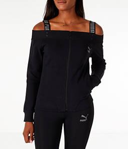 Women's Puma Off The Shoulder T7 Jacket