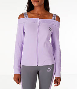 Women's Puma Off The Shoulder T7 Jacket