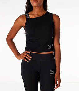 Women's Puma Ribbed Tank