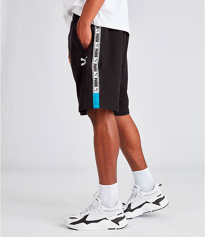 Front view of Men's Puma XTG Shorts in Black