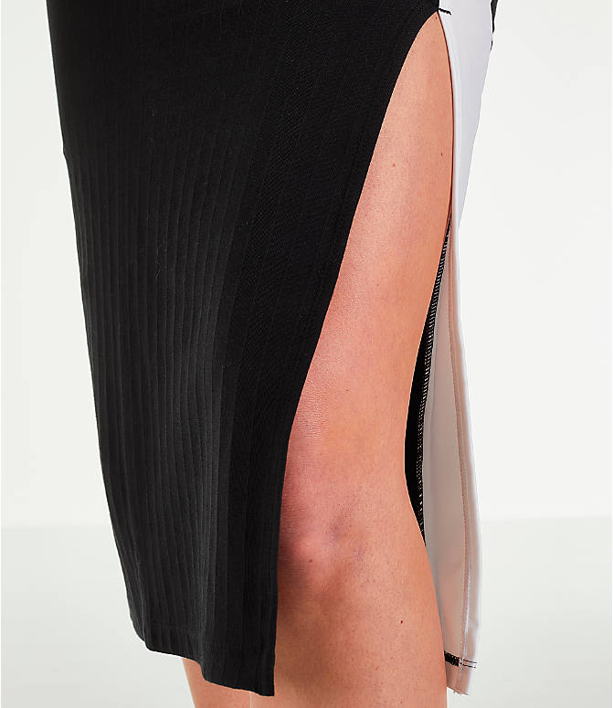 Detail 2 view of Women's Puma Classics Ribbed Skirt in Black