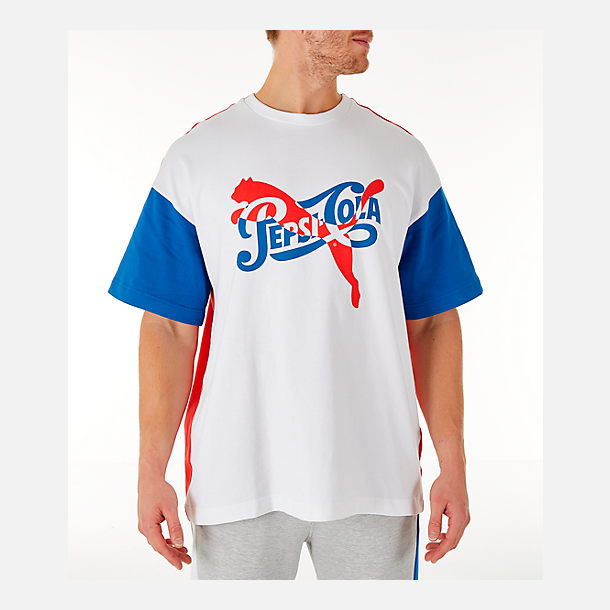Men s PUMA x PEPSI T-Shirt  Finish Line b0b6036387
