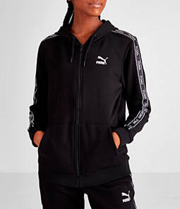 Women's Puma Tape Full-Zip Hoodie